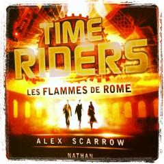 nathan,scarrow,time riders,Rome, antiquité,adolescent,voyage dans le temps